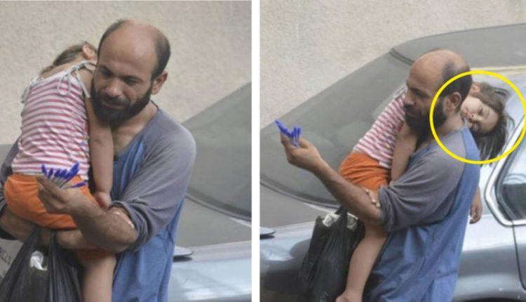 Desesperado e com uma filha com fome, ele vendeu canetas até que um estranho tirou uma foto de sua filha. Veja o que aconteceu.
