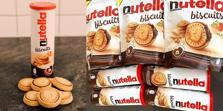 Bolacha ou Biscoito?? Conheça o novo Nutella Biscuits!